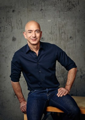 Tech glitch helps Bezos from intense grilling as he snacked
