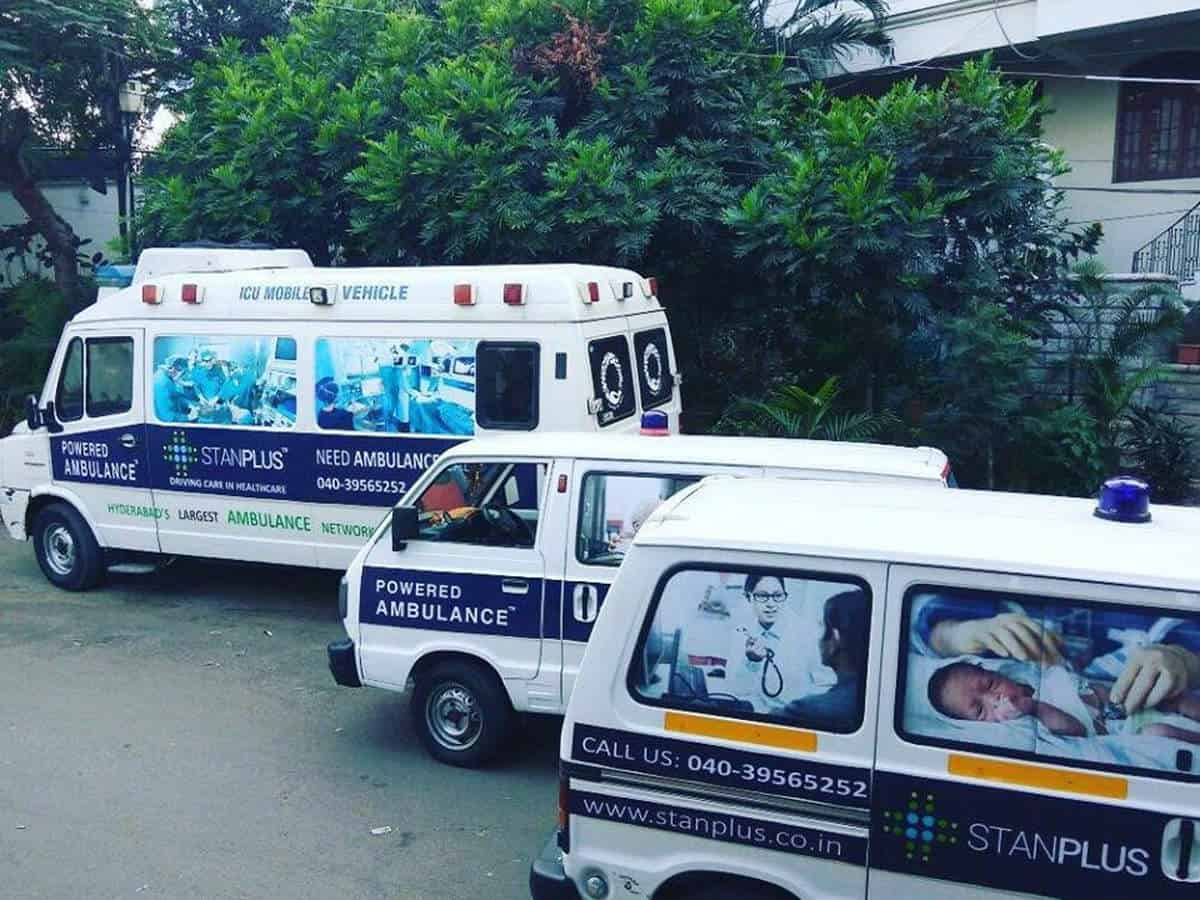 Majority of the private ambulances unequipped