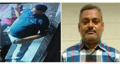 Photo of Vikas Dubey flees Faridabad hotel before police arrival
