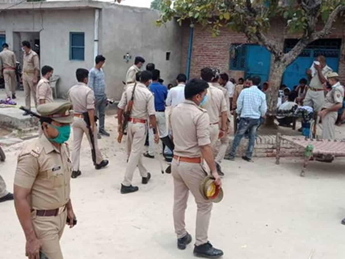 Bikru village remains cold to Vikas' arrest