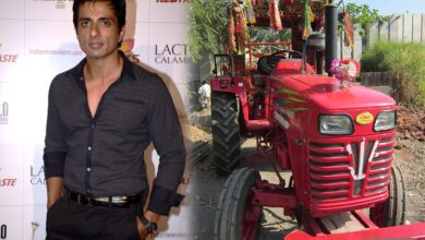 Photo of Sonu Sood gifts tractor to Andhra farmer after video of his plight goes viral