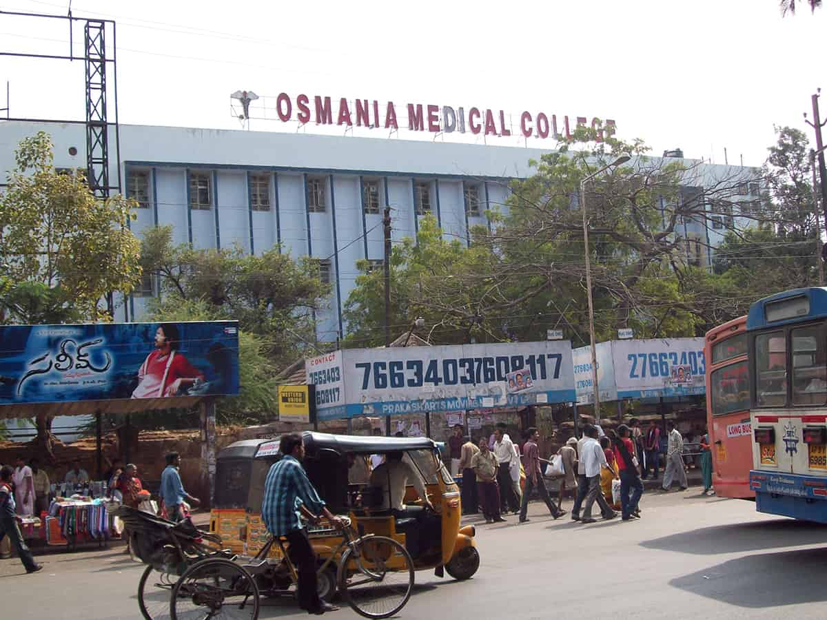 Over 30 doctors of Osmania Medical College affiliated Hospitals tests COVID positive