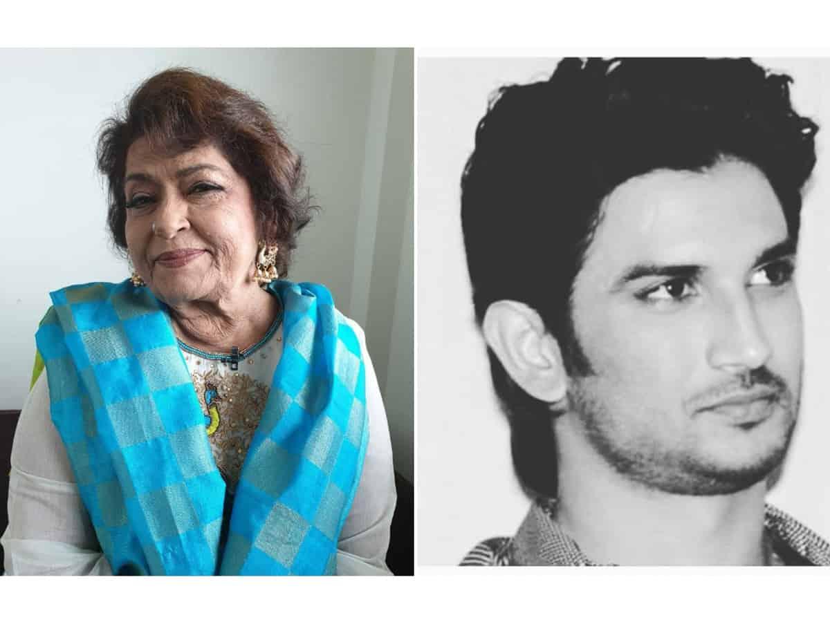 Saroj Khan's last Instagram post was in memory of Sushant Singh Rajput