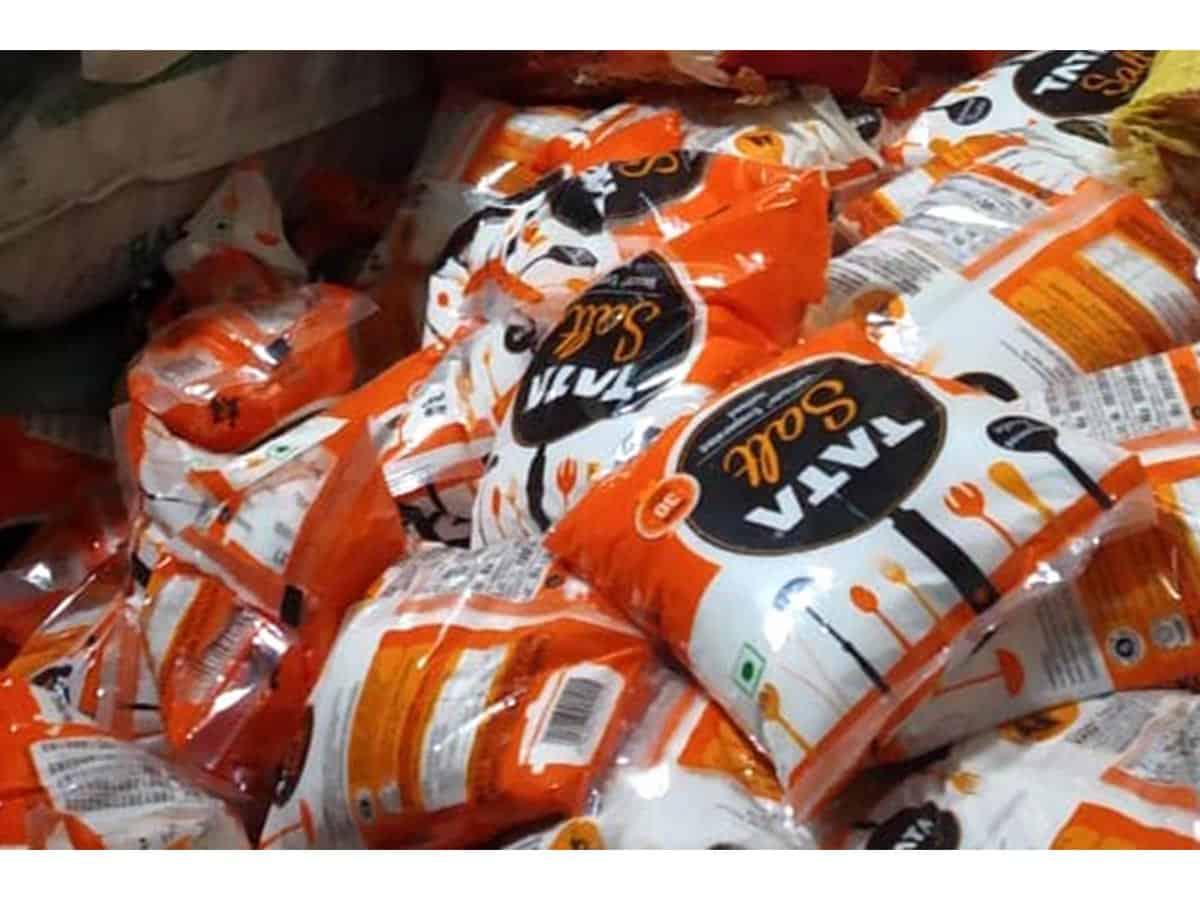 Fake Tata Salt manufacturing unit busted in Delhi