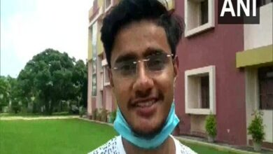 Photo of Student Usman Saifi overjoyed after receiving call from PM Modi