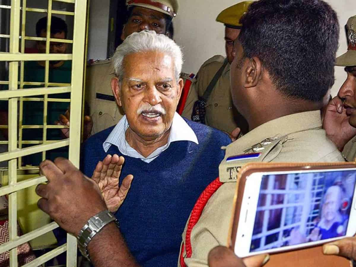 'Not releasing Vara Vara Rao from jail is like trying to kill him there'