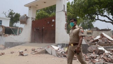 Photo of Vikas Dubey who killed 8 cops missing for 36 hours, house demolished