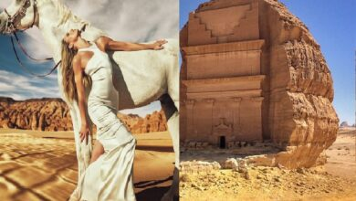 Photo of Raunchy Vogue Arabia photoshoot in Madina province sparks uproar