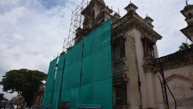 Chowmohalla Palace restoration underway after damaged window