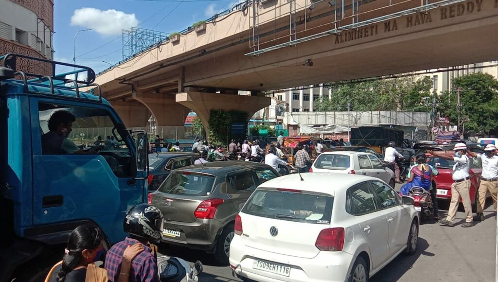 Telangana's secretariat demolition work starts, roads closed