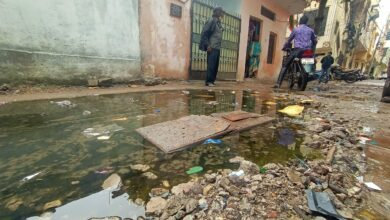 Photo of Nadeem Colony facing infrastructural and hygienic problems