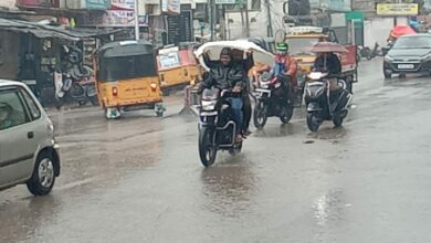 Photo of Rainfall in Hyderabad