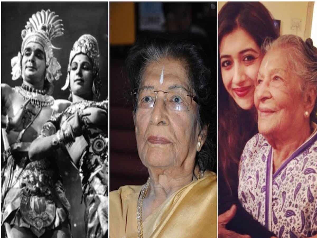 Noted dancer-choreographer Amala Shankar passes away