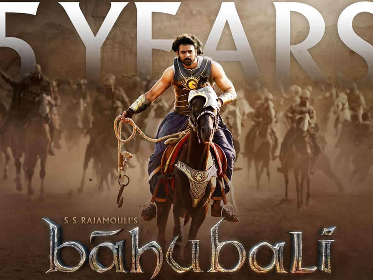Baahubali' team celebrates five years of epic drama