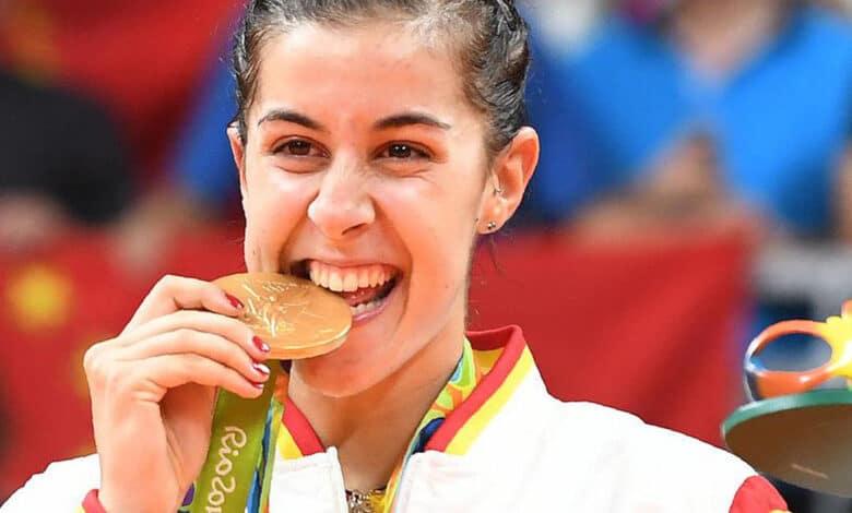 Rio Olympic gold medallist Carolina Marin