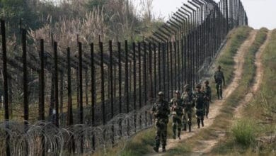 Photo of Pak army shells forward areas along LoC in J-K's Rajouri