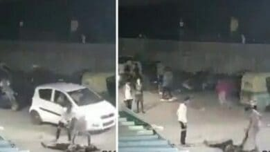Photo of CCTV footage of man stabbed to death shared with false Muslim angle
