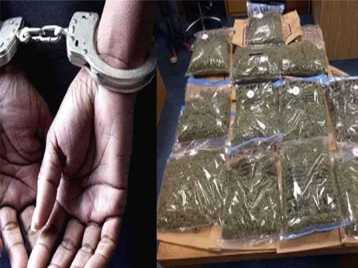 Delhi's minor boy held in Agra for smuggling cannabis