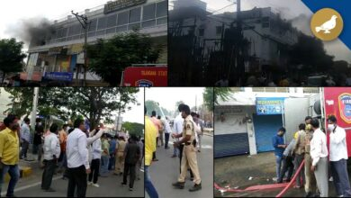 Photo of Fire broke out in a gym near Falaknuma Police station