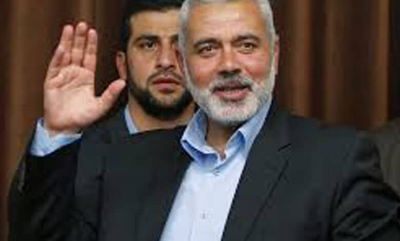 Ismail Abdel Salam Ahmed Haniyeh is a senior political leader of Hamas