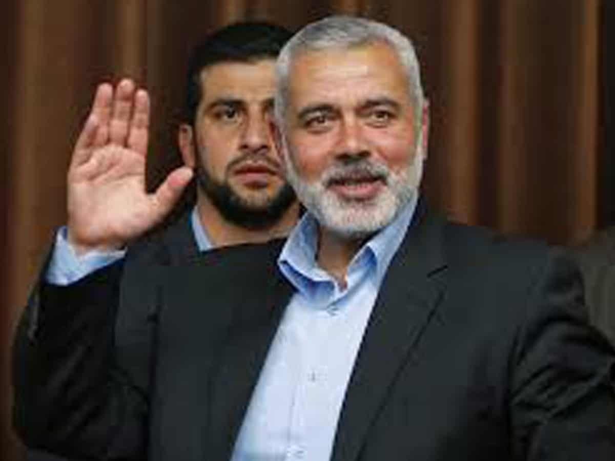 Ismail Abdel Salam Ahmed Haniyeh is a senior political leader of Hamas