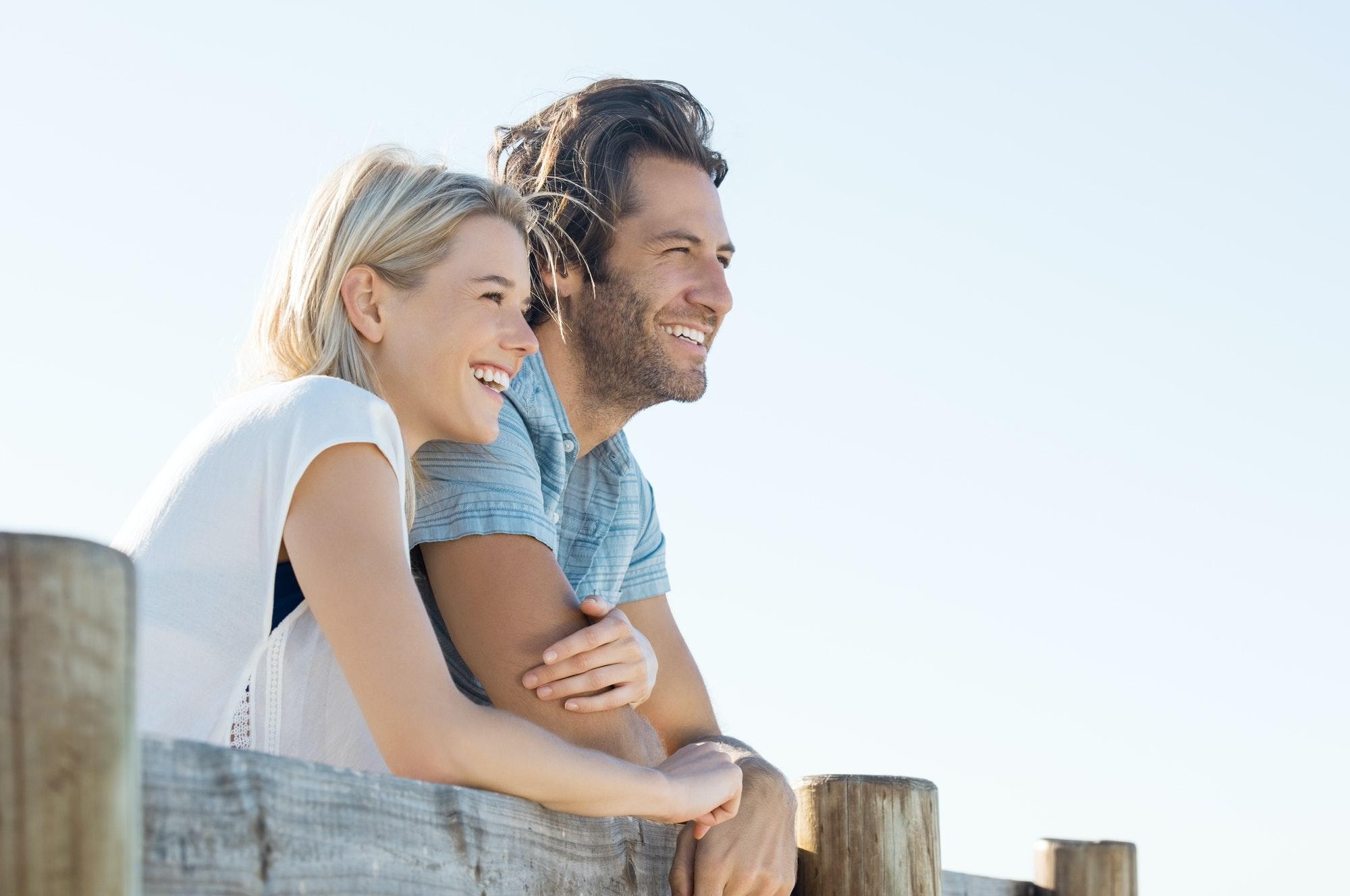 Happy couple vision
