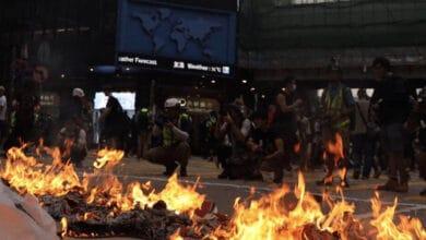 Photo of HK pro-democracy activist reveals he's in London