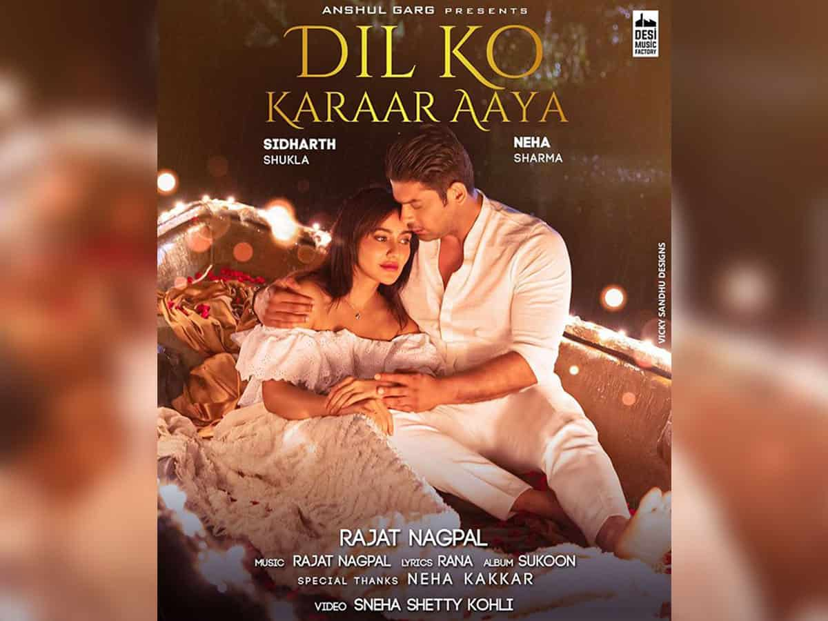 First poster of Sidharth Shukla, Neha Sharma's new music video impresses fans
