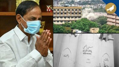 Photo of KCR regrets damage to Mosques, HM welcome KCR's statement