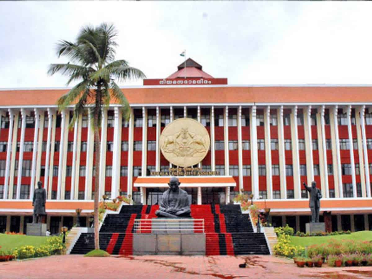 One day Kerala Assembly session suspended