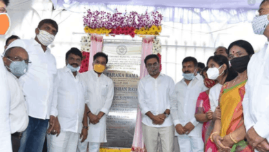 Photo of Kishan Reddy, KTR lay foundation for Rs 426 cr elevated steel bridge, flyover