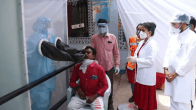 Photo of Kishan Reddy visit central railway hospital in Lallaguda