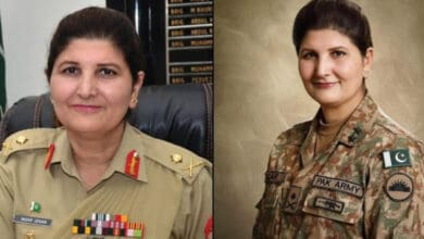 Photo of Pakistani army appoints first female lieutenant general