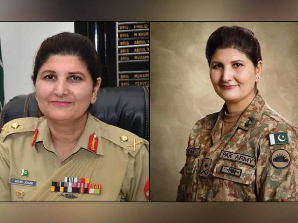 Pakistani army appoints first female lieutenant general