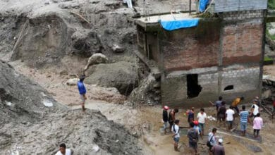 Photo of 11 dead, 23 missing in Nepal landslides