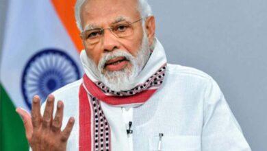 Photo of Modi talks 'Rashtra Rakshaa' as 5 Rafale jets touch down in India