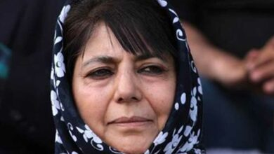 Photo of Mehbooba Mufti's detention extended by three months