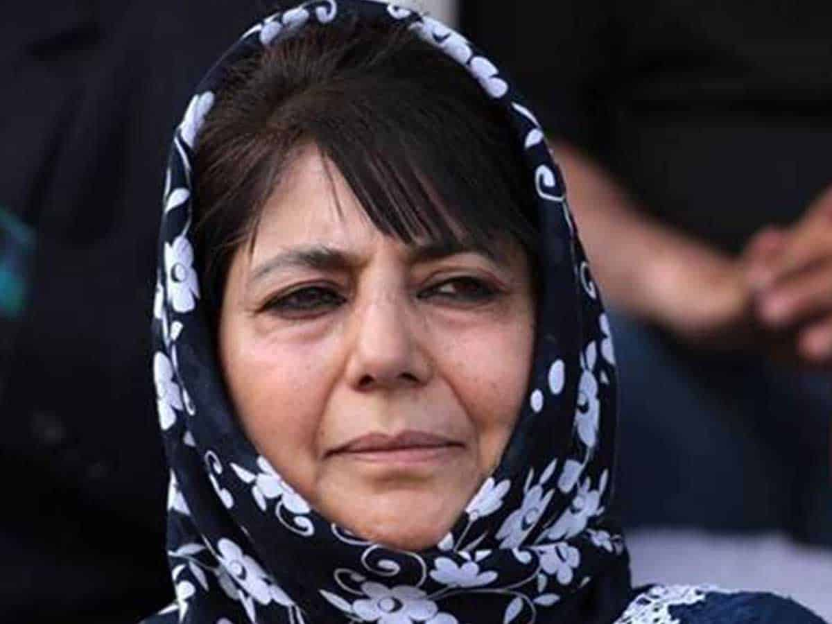 Mehbooba Mufti's detention extended by three months