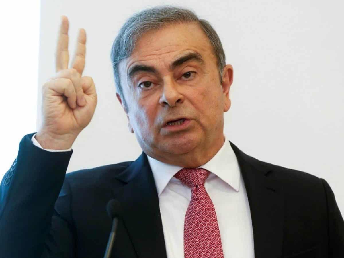 nissan ex chief Carlos Ghosn