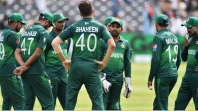 Photo of No logo on Pak players' training kits due to lack of sponsor: Reports