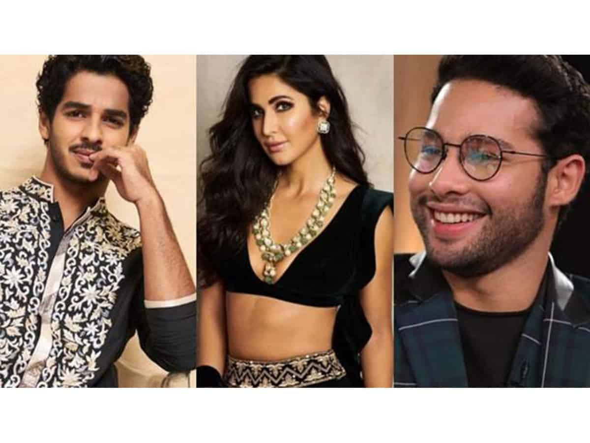Katrina Kaif, Siddhant Chaturvedi and Ishaan Khatter to star in 'Phone Bhoot'