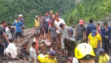 Photo of SDRF continues searches in landslides in Uttarakhand's Tanga village