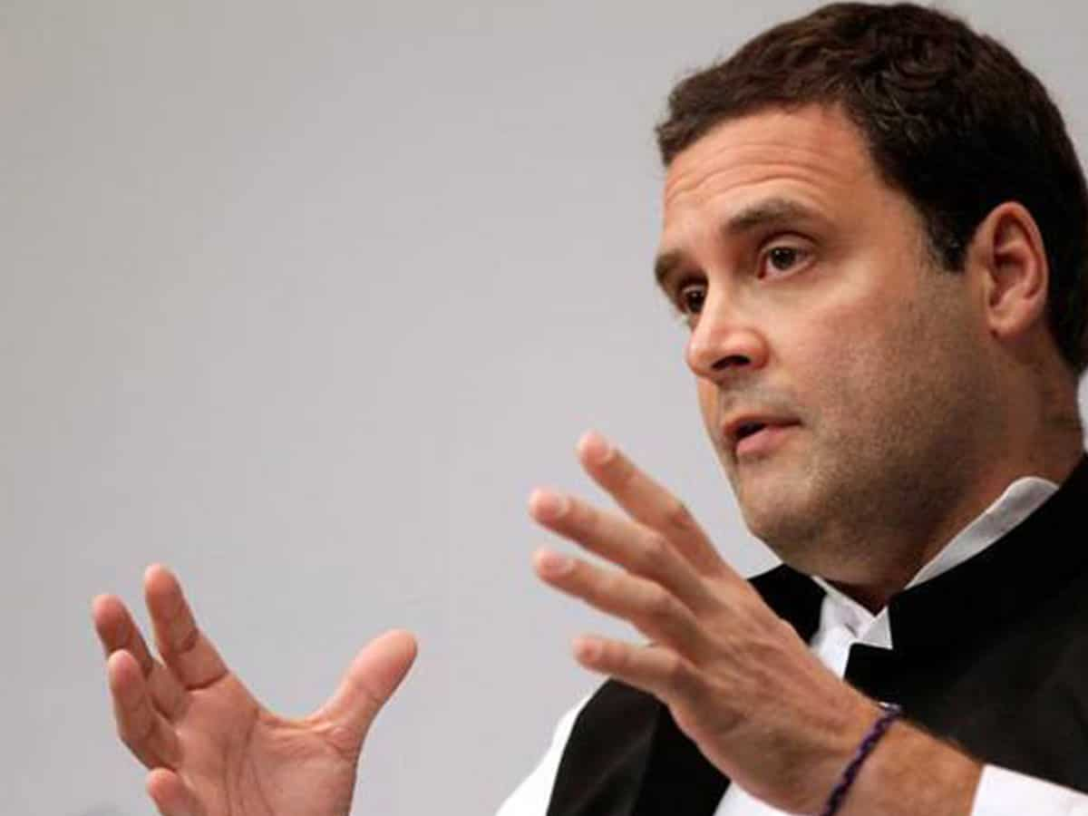 Covid-19 provides opportunity for a new imagination: Rahul