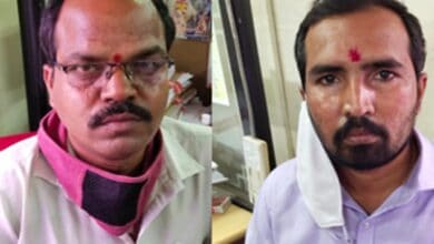 Photo of School Education officials caught red-handed for accepting bribe