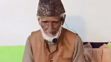 Photo of Veteran Urdu poet Shams Jalnavi passes away at 95