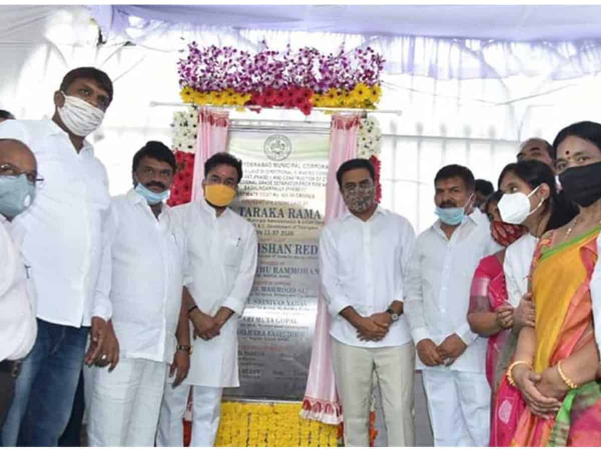 Hyderabad: Foundation stone laid for Rs 523 cr elevated corridor