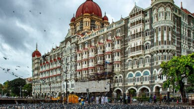 Photo of Threats to Taj hotels: Maha top brass review security