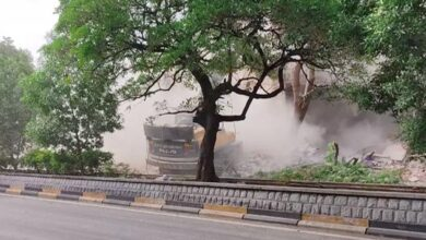 Photo of TS secretariat buildings demolition work starts,roads closed