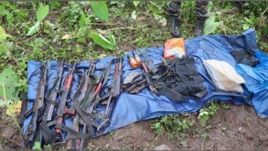 Photo of 6 NSCN (IM) insurgents killed in Arunachal
