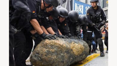 Photo of Unexploded World War II bomb in Hong Kong defused